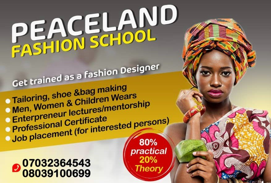 GET TRAINED AS A FASHION DESIGNER